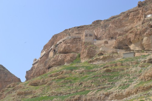 Das Kloster Quarantal bei Jericho