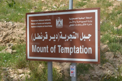 Zu Besuch am Berg der Versuchung